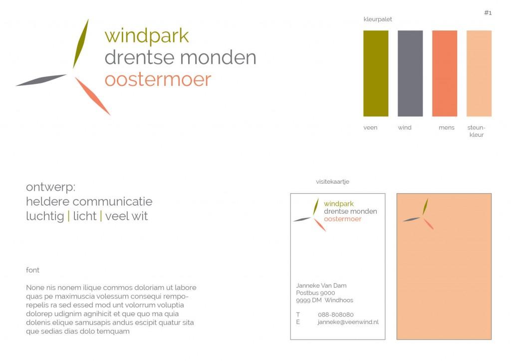 huisstijl projectstijl windpark