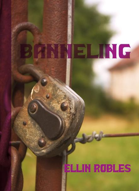 vormgeving boekomslag Banneling